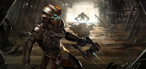 dead space wallpaper. the events of Dead Space 1