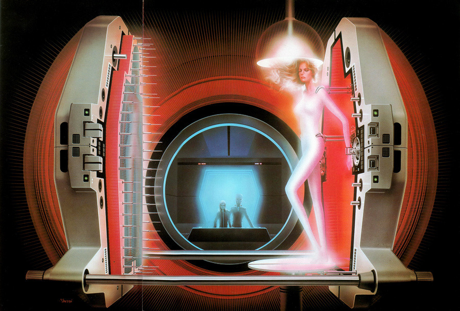 A Massive Collection Of 70s 80s Sci Fi Artwork From 50 Watts