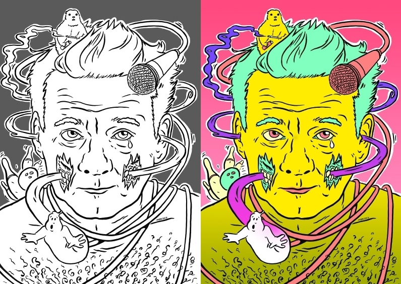 Wait, What? There\'s A Bill Murray Coloring Book ...