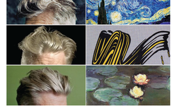David Lynch's Hair Vs. Classic Works Of Art