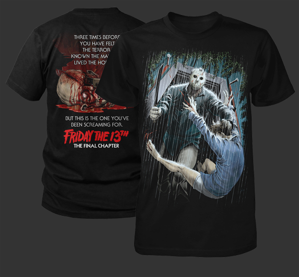 Fright Rags' Limited Edition 'Friday The 13th' Shirts On