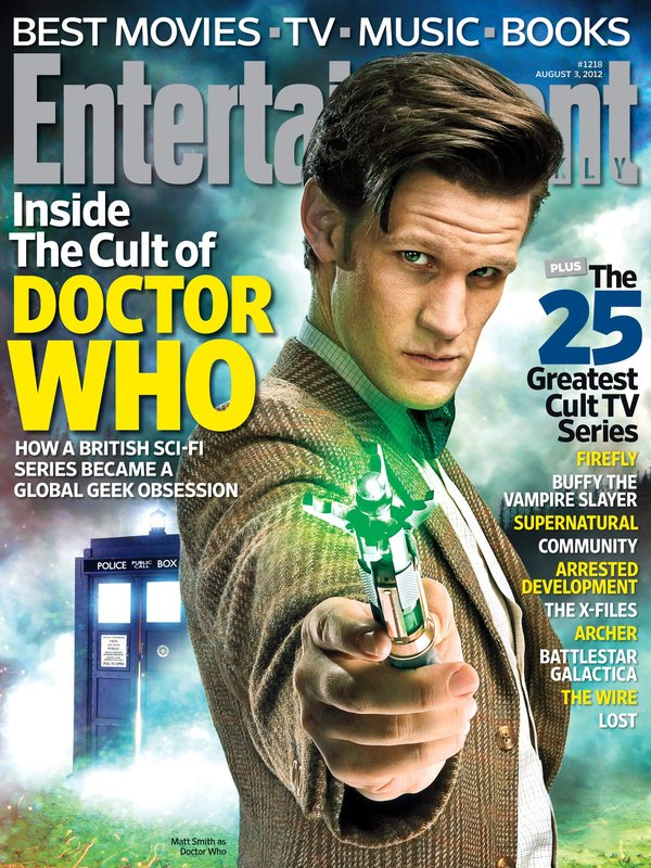 'Doctor Who' Made The Cover Of Entertainment Weekly ...