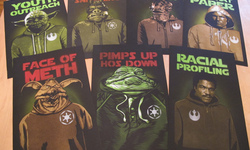 Outer Rim: Limited Spray-Painted 'Star Wars' Art By Mr. Prvrt