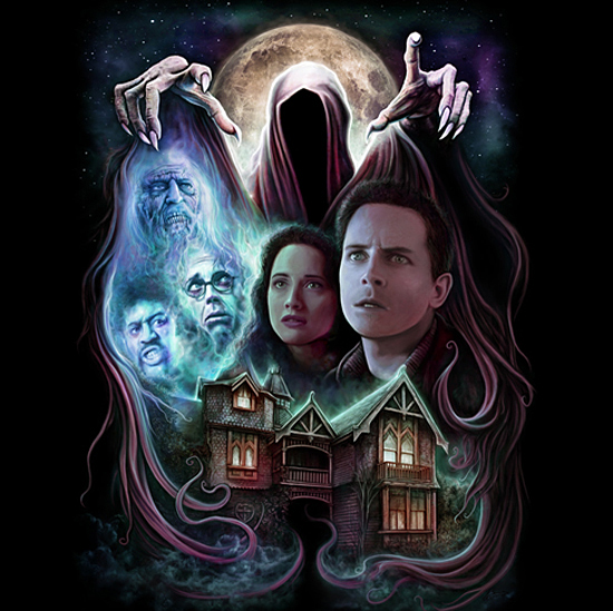 Christopher Lovell's 'The Frighteners' Shirt For Fright Rags