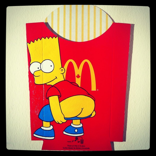 Pop Art On McDonald's French Fry Packaging By Ben Frost ...