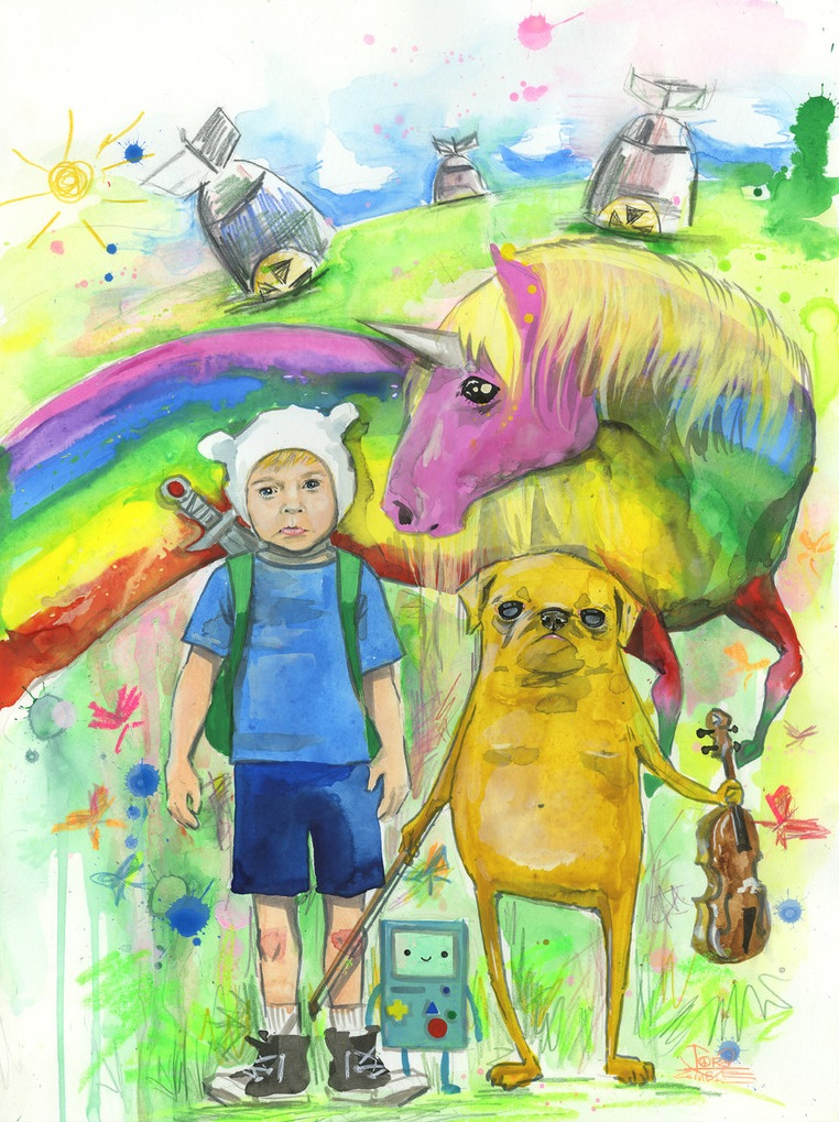 Lora Zombie S Adventure Time Poster Cromeyellow Com