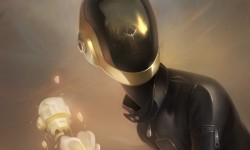 Previews For Gauntlet Gallery&#039;s Daft Punk-Inspired Art Show, &#039;ReDiscovery&#039;