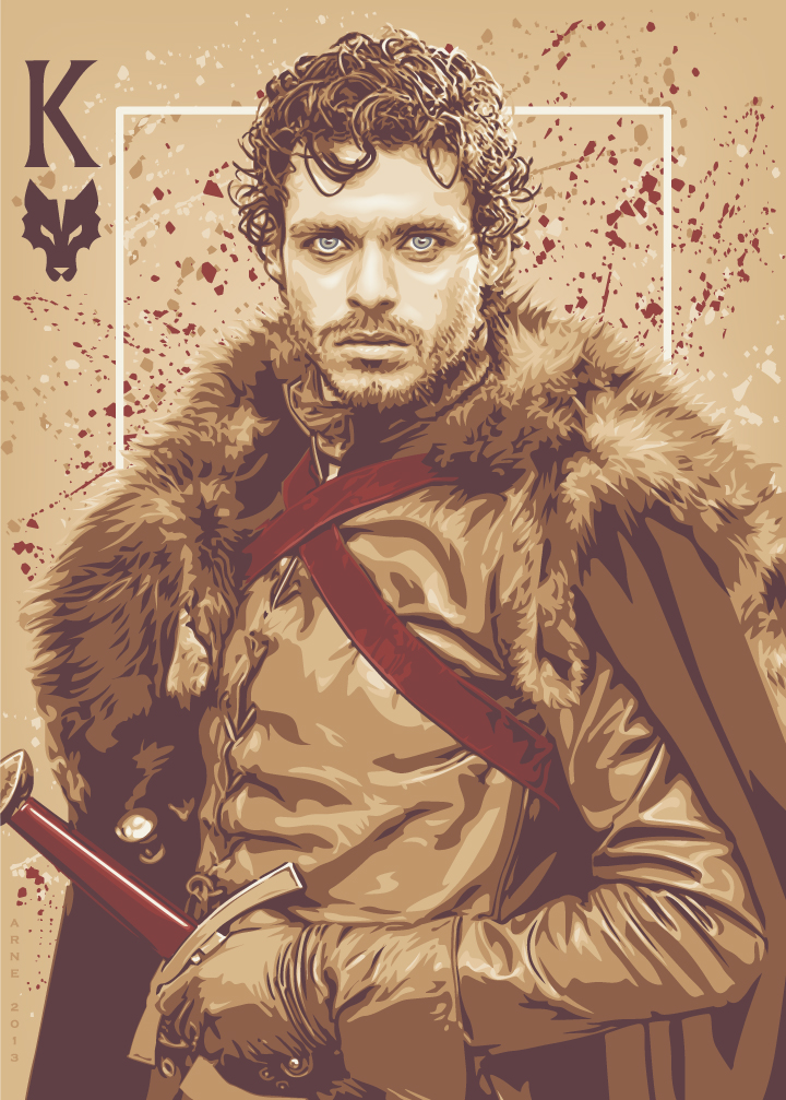 39 game of thrones 39 playing card illustrations by ratscape cromeyellow com. Black Bedroom Furniture Sets. Home Design Ideas