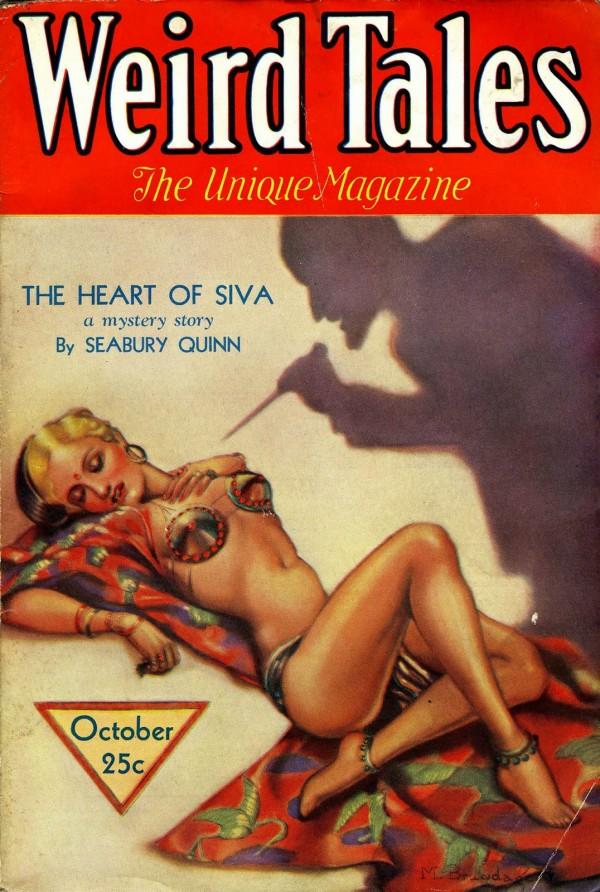 1932-10 Weird Tales by Margaret Brundage