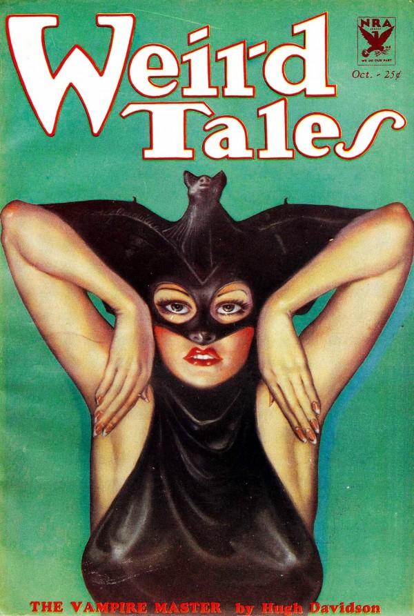 1933-10 Weird Tales by Margaret Brundage