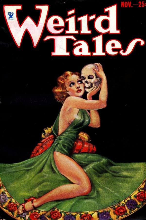 1933-11 Weird Tales by Margaret Brundage