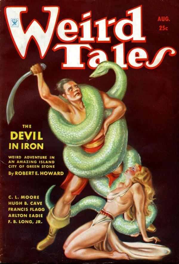 1934-08 Weird Tales by Margaret Brundage