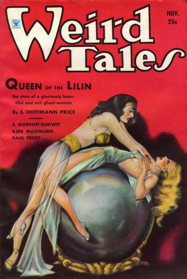 1934-11 Weird Tales by Margaret Brundage