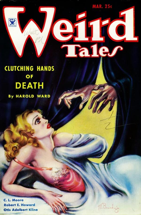 1935-03 Weird Tales by Margaret Brundage