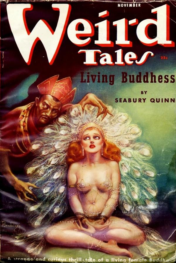 1937-11 Weird Tales by Margaret Brundage