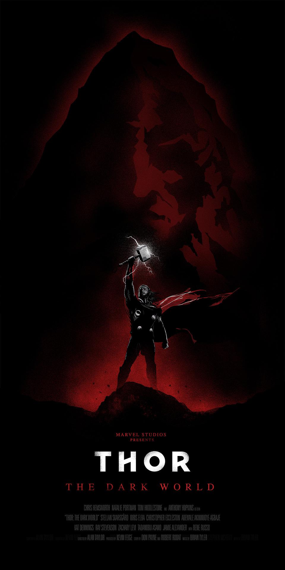 oli riches thor dark world 1 Thor The Dark World Mondo Poster