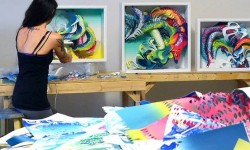 Hashimoto Contemporary Debuts With Crystal Wagner's 'Synesthesia'