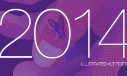 Favorite Illustrated Alt Posters Of 2014