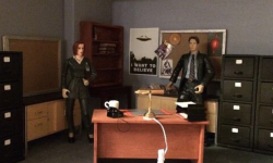 The Miniature 'X-Files' Office
