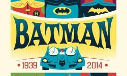 New 'Batman' Posters By Justin Santora & Dave Perillo