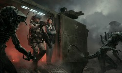 Xenomorphs Are Weaponized In Marek Okon's 'Under Control'
