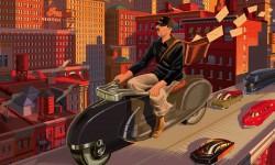 Laurent Durieux Takes On Jacques Tati's 'Jour de Fête'