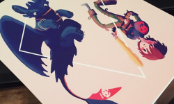 Previews For iam8bit Gallery's 'Party Of Three'