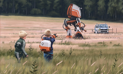 Kickstarter: 'Tales From The Loop' By Simon Stalenhag