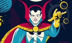 'Ghost Rider' & 'Doctor Strange' By Dave Perillo