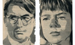 Scout & Atticus Finch By Nick Comparone
