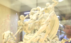 SDCC '15: Behold, The Real Statue From 'Age Of Ultron's End Title Sequence