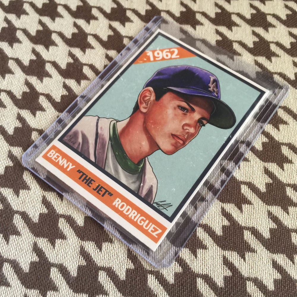 Benny The Jet Baseball Cards By Cuyler Smith Cromeyellowcom