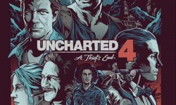 'Uncharted 4' Steelbook Art By Alexander Iaccarino