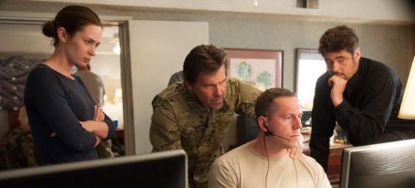 Sicario film review Emily Blunt Josh Brolin Benicio del Toro