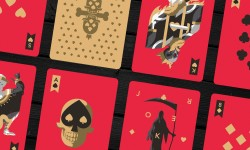 Kickstart Florey's 'Dead Decks' Playing Cards