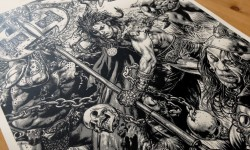'Sláine' By Glenn Fabry