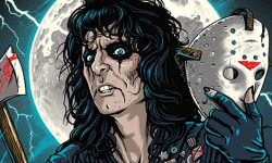 'He's Back' Alice Cooper Poster By Gary Pullin