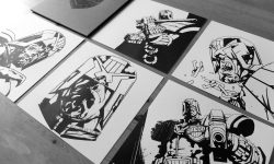 Stunning 'Dredd' Letterpress Set From Jock
