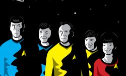 The Poster Posse Celebrates 'Star Trek's 50 Years And Beyond