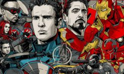 Behold, Tyler Stout's 'Captain America: Civil War' Poster