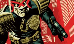 Art From Vice Press' 'Zarjaz! An Art Tribute To 40 Years of 2000 AD' Exhibit