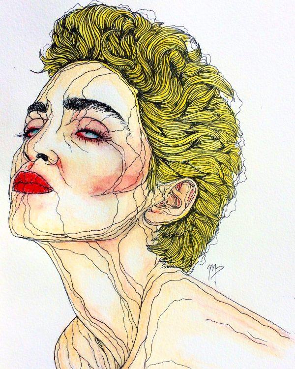 Madonna by Maddie Peshek