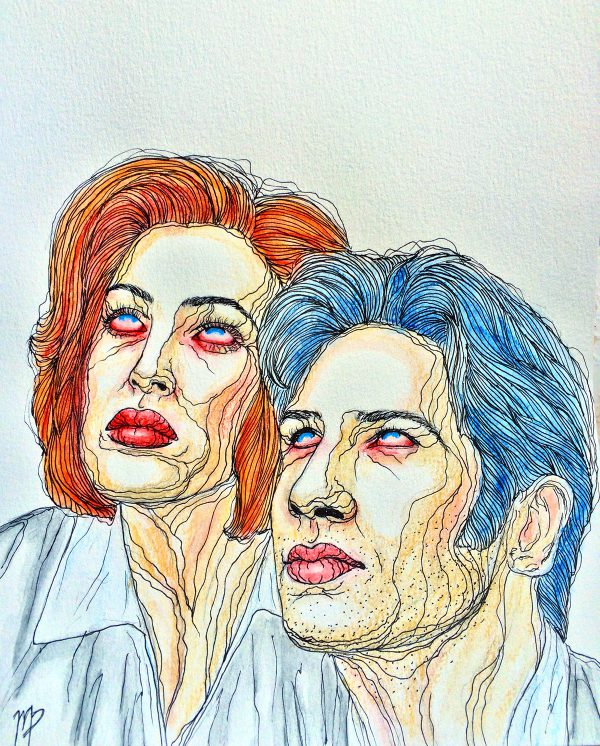 X-Files by Maddie Peshek