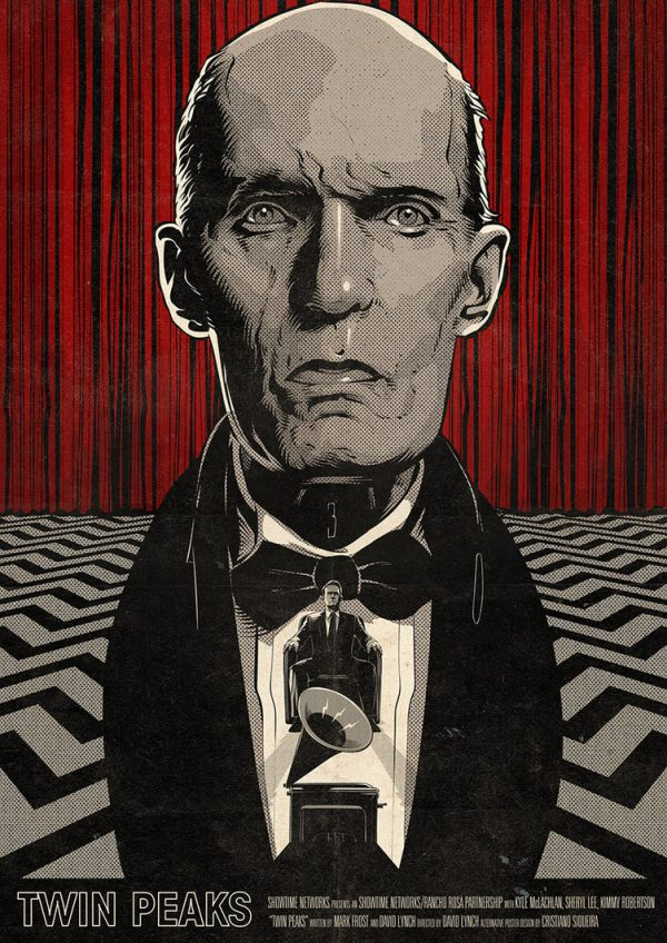 Cristiano Siqueira Twin Peaks Poster 1