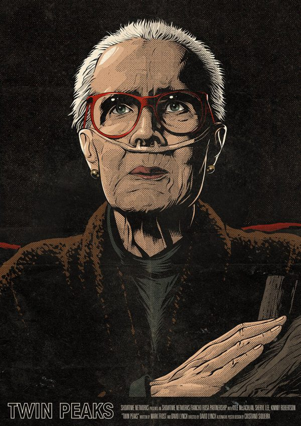 Cristiano Siqueira Twin Peaks Poster 10