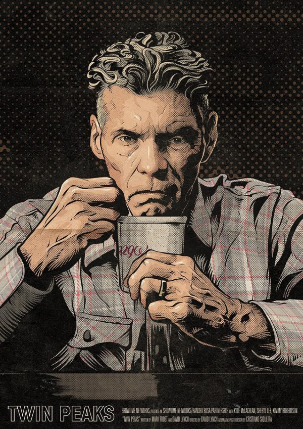 Cristiano Siqueira Twin Peaks Poster 13