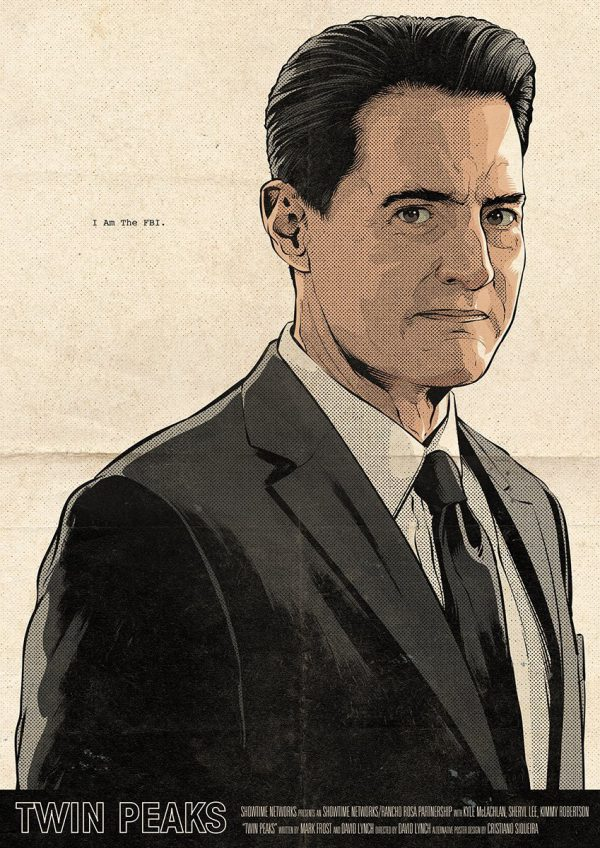 Cristiano Siqueira Twin Peaks Poster 16