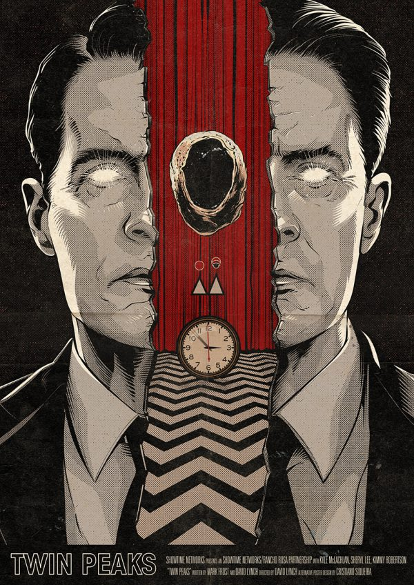 Cristiano Siqueira Twin Peaks Poster 17
