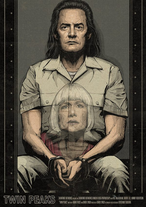 Cristiano Siqueira Twin Peaks Poster 7
