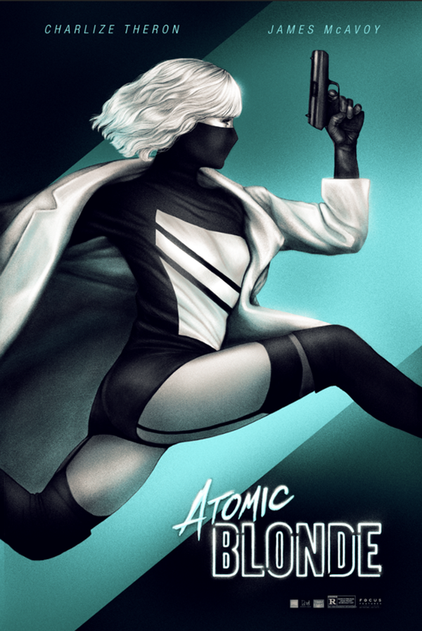 sara deck atomic blonde poster